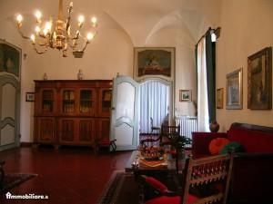 Interno della casa dove visse  Silvio Pellico a Camerano Casasco Asti