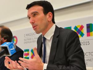 Il ministro delle Politiche Agricole Maurizio Martina ha la delega per Expo da parte del governo Renzi