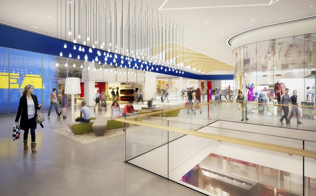Il nuovo centro commerciale ikea roncadelle sar in classe - Piastrelle prima scelta commerciale ...