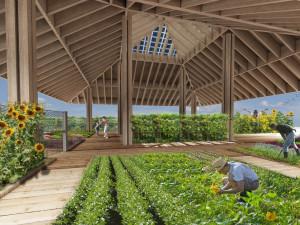 I Viali degli Orti è una delle aree del futuro retail park, dedicate al verde e alla cultura botanica