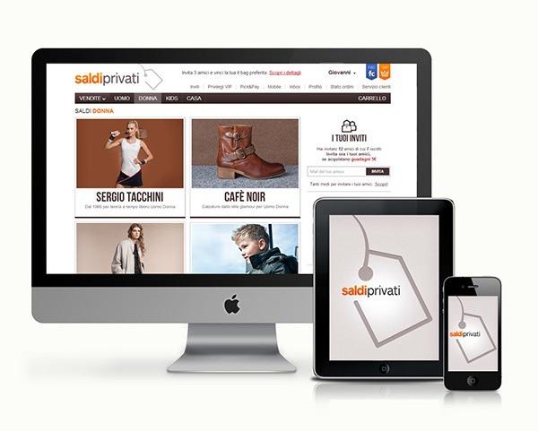 Saldiprivati aumenta il mobile commerce per l arredamento for E commerce arredamento