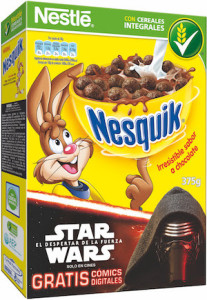 3D NESQUIK Star Wars