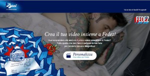 baci perugina video fedez
