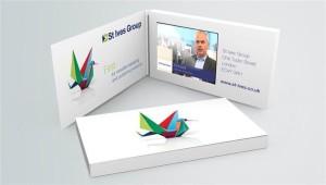 business card video biglietto visita