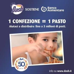 visual campagna Dash e Banco Alimentare DEF