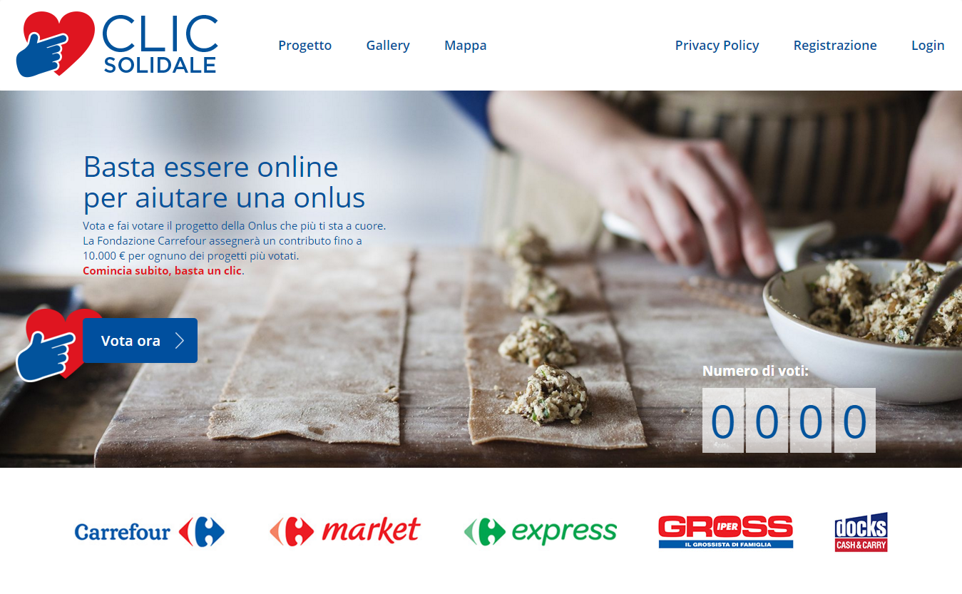 Clic Solidale carrefour