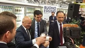 Coop latte italiano