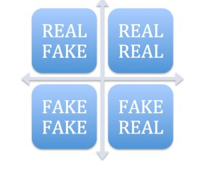 Matrice Fake Real