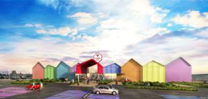 La Food Court di Valmontone in apertura a novembre 2106