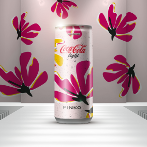 Coca Cola light PINKO
