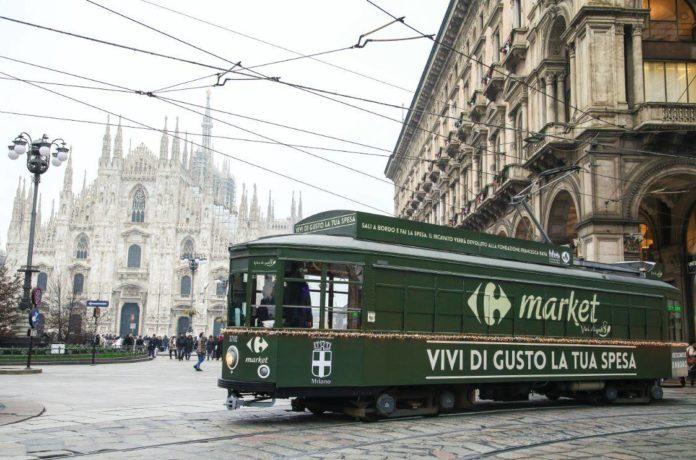 carrefour market tram