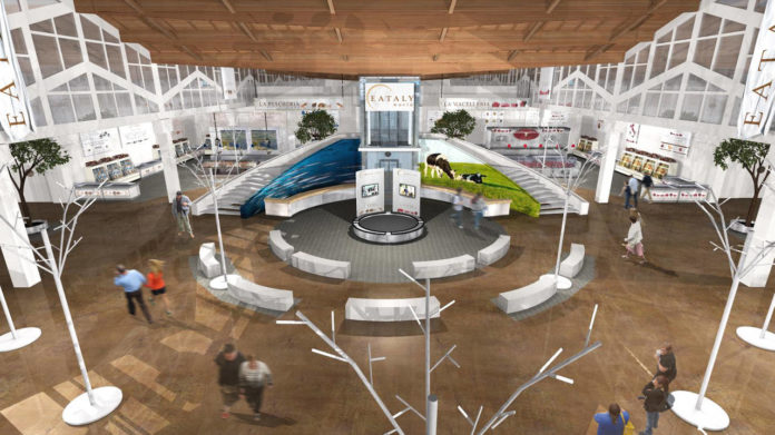 rendering Fico eataly world