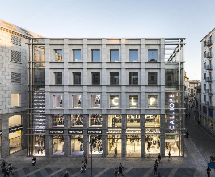 Un'immagine del flagship Terranova e Calliope a Milano