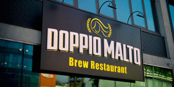 doppio malto brew restaurant
