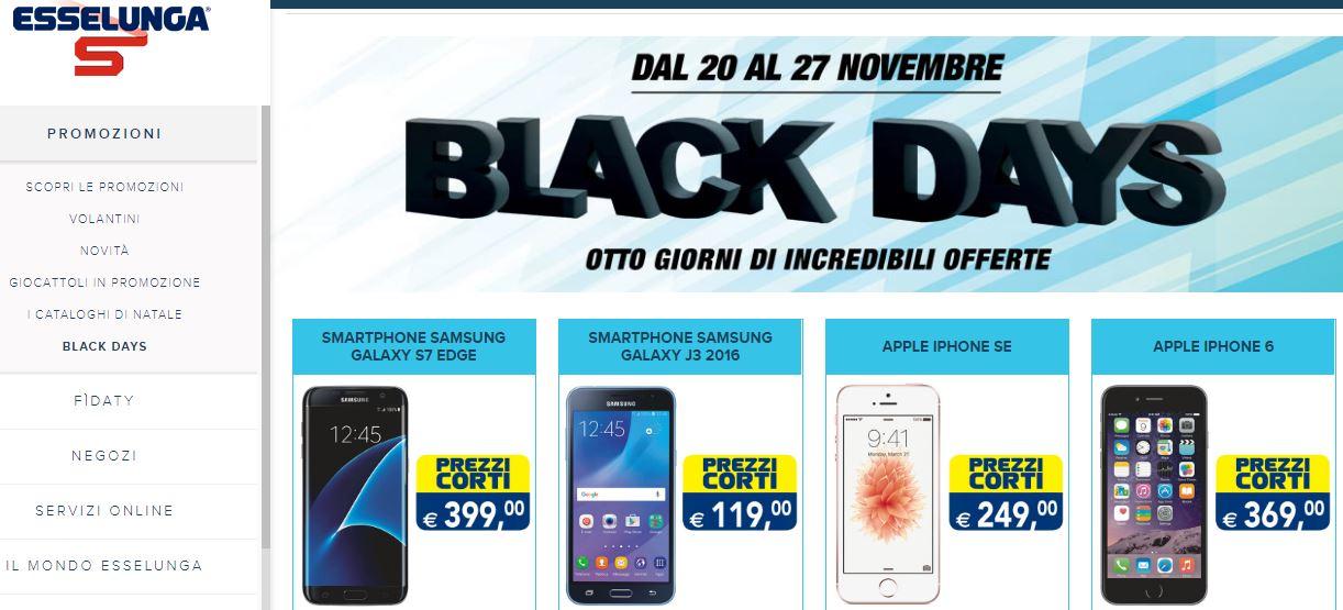 Da esselunga a nescaf il black friday 2017 in italia for Black friday 2017 milano