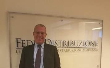 Claudio Gradara, presidente di Federdistribuzione