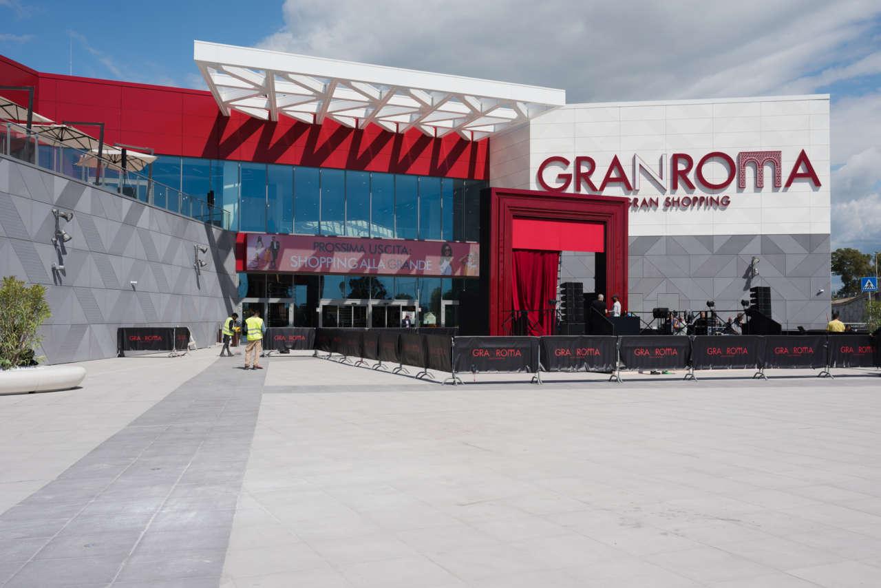Gran Roma, esordio di Gruppo Fresia nei centri commerciali