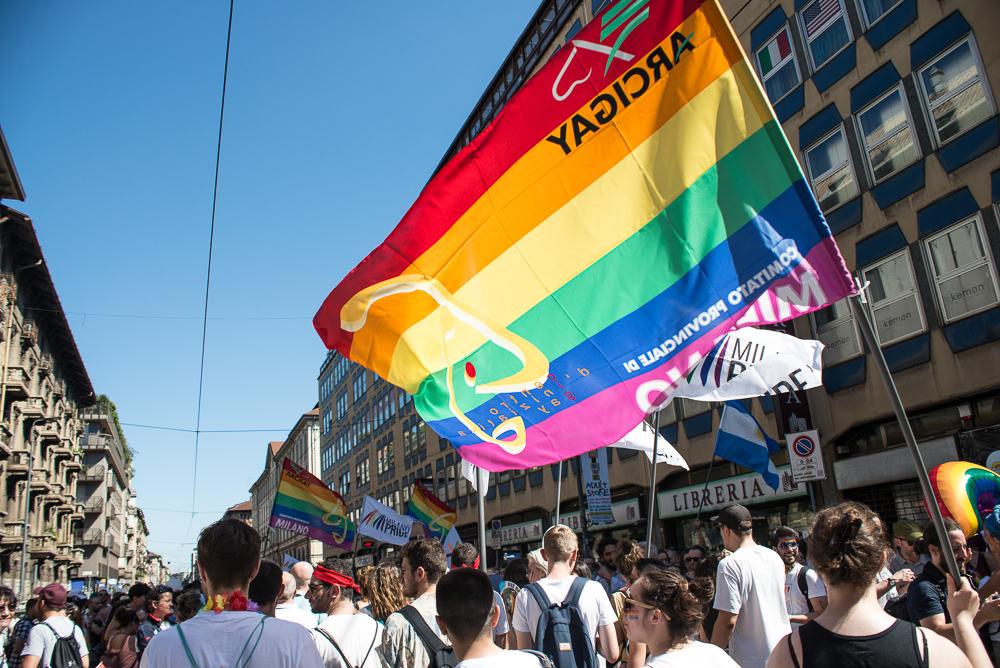 Milano Pride, la parata del 2018