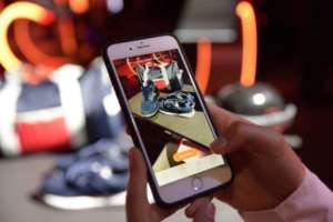 Ar instore è una app sullo smartphone