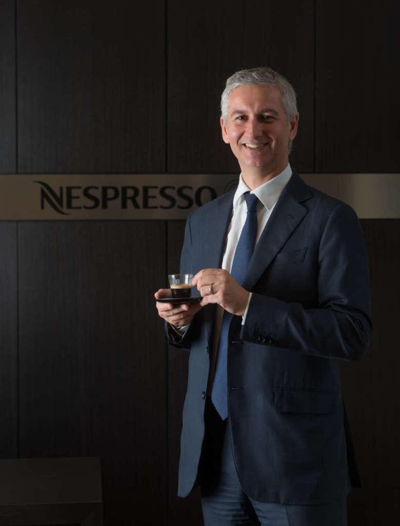 Stefano Goglio, direttore generale Nespresso Italiana