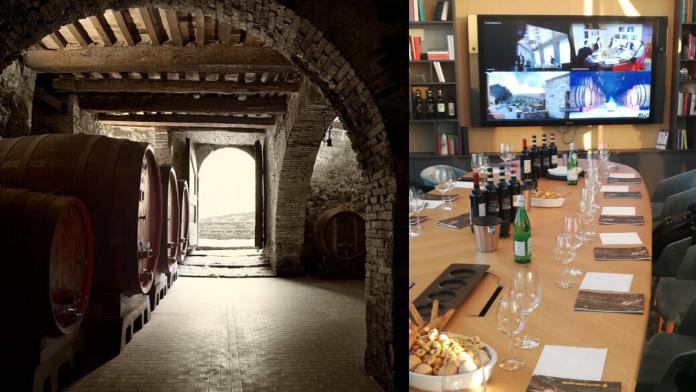 Vino_Ciacci Piccolomini d'Aragona_ Cloud Computing_Digital Wine Taste