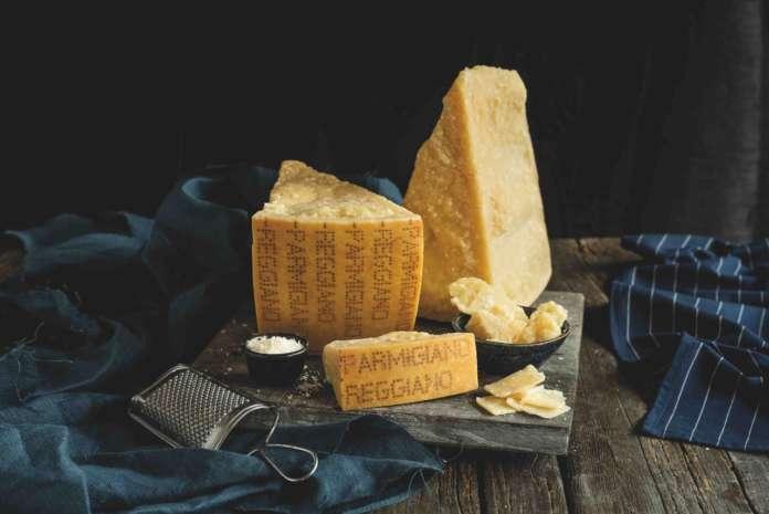 Parmigiano Reggiano vendite export