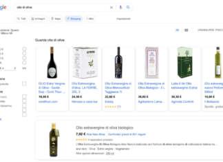 shopping tab google