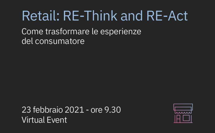 Re-Think and Re-Act IBM Virtual Store 2021