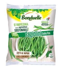 Fagiolini surgelati Bonduelle senza residuo di pesticidi